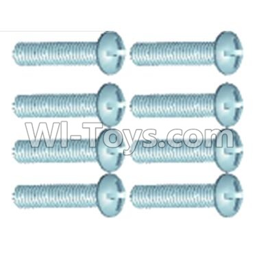 Wltoys 12404 0252 Pan head screws(8PCS)-M2.6X10,Wltoys 12404 Parts