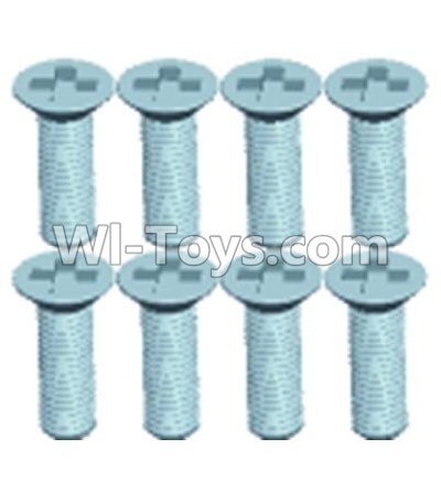 Wltoys 12404 0255 Countersunk head screws(8PCS)-M3X10,Wltoys 12404 Parts