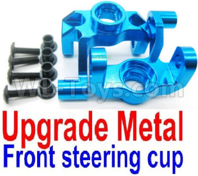 Wltoys 12428-A Upgade Metal Front steering cup,Left and Right Universal joint(2pcs),Wltoys 12428-A Parts
