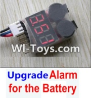 Wltoys 12423 Upgrade Alarm for the Battery,Can test whether your battery has enouth power Parts,Wltoys 12423 Parts