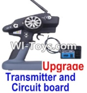 Wltoys 12423 Upgrade P33 Transmitter and Circuit board Parts,Wltoys 12423 Parts