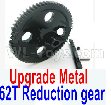 Wltoys 12428-A Upgrade Metal 62T Reduction gear,Wltoys 12428-A Parts