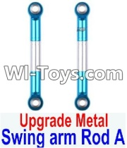 Wltoys 12423 Upgrade Metal Swing Arm Parts Rod A Parts-2pcs,Wltoys 12423 Parts
