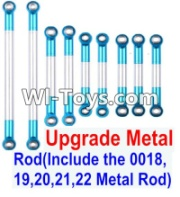Wltoys 12423 Upgrade Metal Rod(Include the 0018,19,20,21,22 Metal Rod)-9pcs,Wltoys 12423 Parts