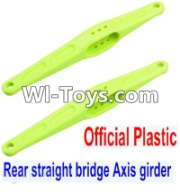 Wltoys 12423 Plastic Rear straight bridge Axis girder for the Rear Swing Arm Parts-2pcs,Wltoys 12423 Parts