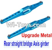 Wltoys 12423 Upgrade Metal Rear straight bridge Axis girder for the Rear Swing Arm(2pcs)-12423.0023-,Wltoys 12423 Parts