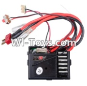 Wltoys 12423 Three in one Receiver board,Circuit board Parts,Wltoys 12423 Parts