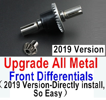 Wltoys 12428-A 12428A Upgrade All Metal Front Differentials Parts-2019 Version,Directly install