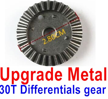 Wltoys 12428-A Upgrade Metal 30T Differentials gear,Wltoys 12428-A Parts