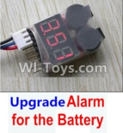 Wltoys 12428-A Upgrade Alarm for the Battery,Can test whether your battery has enouth power,Wltoys 12428-A Parts