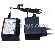 Wltoys 12428-A charger and balance charger(Can charge 1 battery at the same time),Wltoys 12428-A Parts