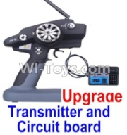 Wltoys 12428-A Upgrade P33 Transmitter and Circuit board,Wltoys 12428-A Parts
