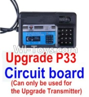 Wltoys 12428-A Upgrade P33 Receiver board(Can only be use for the Upgrade Transmitter),Wltoys 12428-A Parts