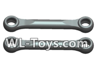 Wltoys 18428 Swing arm Rod Parts(2pcs)-Black-0391,Wltoys 18428 Parts