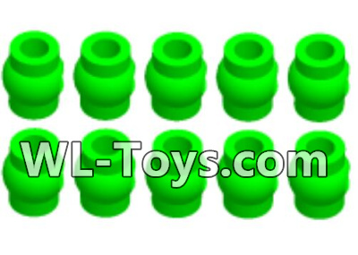 Wltoys 18428 Green Ball-head unit Parts(10pcs)-0710,Wltoys 18428 Parts