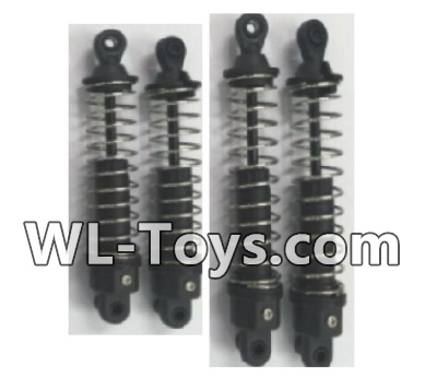 Wltoys 18428 Front and Rear Shock Absorber Parts(2pcs Short and 2pcs Long)-0400,Wltoys 18428 Parts