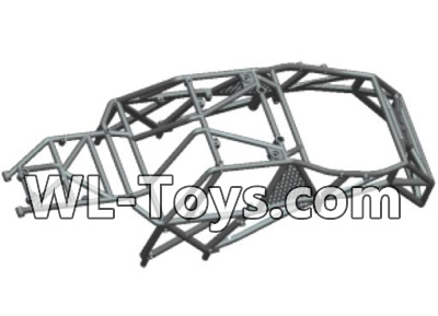 Wltoys 18428 Car skeleton components,Car frame unit-Black-0401,Wltoys 18428 Parts