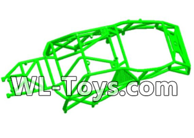 Wltoys 18428 0463 Car skeleton components,Car frame unit-Green,Wltoys 18428 Parts