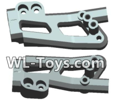 Wltoys 18428 Rearl shockproof board(2pcs)-0405,Wltoys 18428 Parts