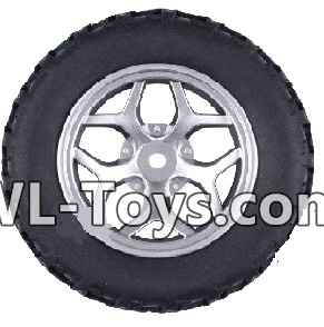 Wltoys 18428 Whole wheel unit(1 set)-Black-0409,Wltoys 18428 Parts