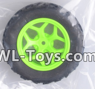 Wltoys 18428 Whole wheel unit(1 set)-Green-0464,Wltoys 18428 Parts