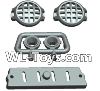 Wltoys 18428 Car Head light components-0411,Wltoys 18428 Parts