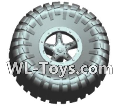 Wltoys 18428 Spare tire components(1 set)-0413,Wltoys 18428 Parts