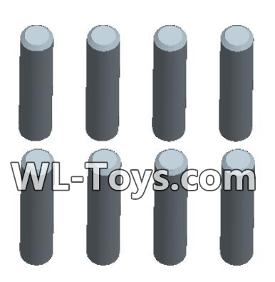 Wltoys 18428 Optical axis-1.5X7(4pcs)& Optical axis-1.5X9(4pcs)-0446,Wltoys 18428 Parts