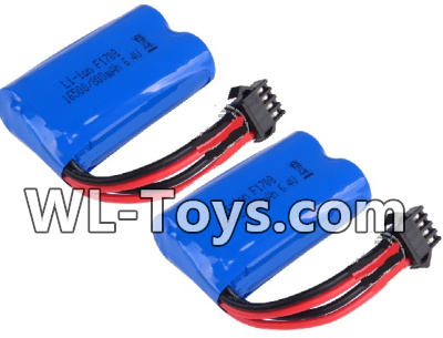 Wltoys 18428 Battery-6.4v 700mah Battery Parts(2pcs)-0449,Wltoys 18428 Parts