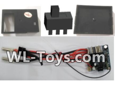 Wltoys 18428 Receiver board,Receiving unit Parts-0444Wltoys 18428 Parts