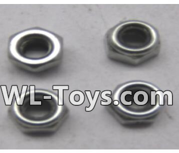 Wltoys 18428 M3 lock nut group(4pcs)-A929-95,Wltoys 18428 Parts