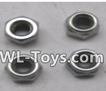 Wltoys 18428 M2.5 lock nut group(4pcs)-A929-96,Wltoys 18428 Parts