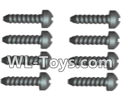 Wltoys 18428 Phillips pan head screws Parts-2X12 PM(8pcs)-0111,Wltoys 18428 Parts