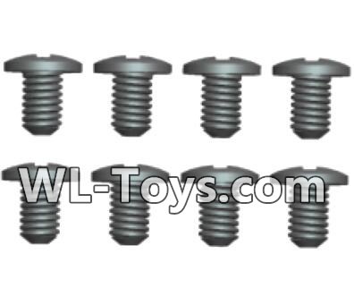 Wltoys 18428 Phillips pan head screws Parts-ST1.7X4PB(8pcs)-0416,Wltoys 18428 Parts