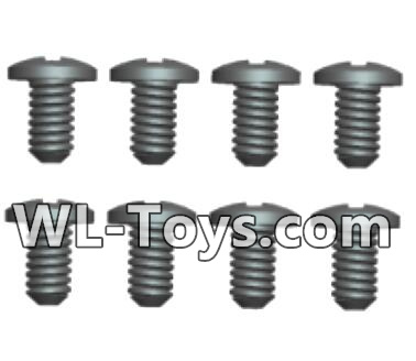 Wltoys 18428 Phillips pan head screws Parts-2X5PM(8pcs)-0418,Wltoys 18428 Parts
