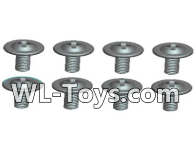 Wltoys 18428 0429 Round head With media screw-ST1.8X3PWB(8pcs),Wltoys 18428 Parts