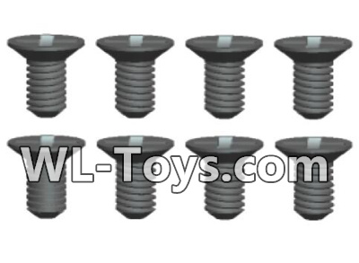Wltoys 18428 0434 Phillips Countersunk head screws Parts-3X5kB(8pcs),Wltoys 18428 Parts