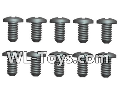Wltoys 18428 A303-32 Phillips Round head Self-tapping screws Parts-ST1.7X6PB(8pcs),Wltoys 18428 Parts