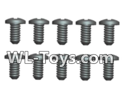Wltoys 18428 A929-62 Phillips Round head screws Parts-2.3X5(8pcs),Wltoys 18428 Parts