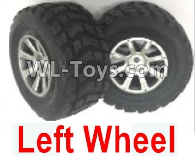 Wltoys 18403 0932 Whole Left wheel unit(Include the Wheel hub,tire lether)-2 set,Wltoys 18403 Parts