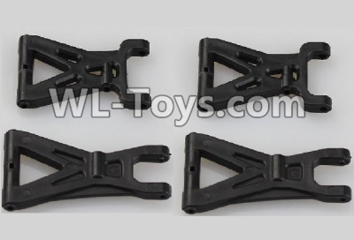 Wltoys 18403 Front and Rear Swing arm Parts,Suspension Arm(Total 4pcs)-A959-02,Wltoys 18403 Parts
