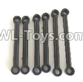 Wltoys 18403 Front and Upper Rod(2pcs) & Steering Rod(2pcs) & Rear and Upper Rod(2pcs)-0900,Wltoys 18403 Parts