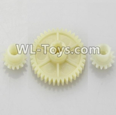 Wltoys 18403 Reduction gear with 2 small gear-A949-24,Wltoys 18403 Parts