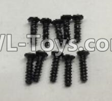 Wltoys 18403 Round Head self tapping screws Parts(M2x7)-10pcs-A949-39,Wltoys 18403 Parts