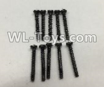 Wltoys 18403 Round Head self tapping screws Parts(M2x16)-10pcs-A949-41,Wltoys 18403 Parts
