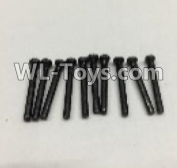 Wltoys 18403 Round Head self tapping screws Parts(M2x19)-10pcs-0917,Wltoys 18403 Parts