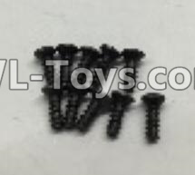 Wltoys 18403 A949-47 Countersunk self tapping screws Parts(M2x16)-10pcs,Wltoys 18403 Parts