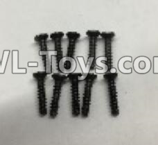 Wltoys 18403 A949-48 Countersunk self tapping screws Parts(M2x9.5)-10pcs,Wltoys 18403 Parts