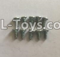 Wltoys 18403 0921 Round Head self tapping screws Parts(M2x4)-10pcs,Wltoys 18403 Parts