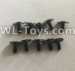 Wltoys 18403 L959-62 Round Head self tapping screws Parts with tape(2.5x6x8PWB)-10pcs,Wltoys 18403 Parts
